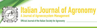 Italian Journal of Agronomy
