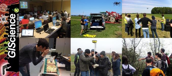 Master di secondo livello in GIScience e Sistemi a Pilotaggio Remoto per la gestione integrata del territorio e delle risorse naturali